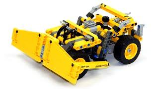 Lego Technic 42035 Model B Wheel Dozer Speed Build And Review