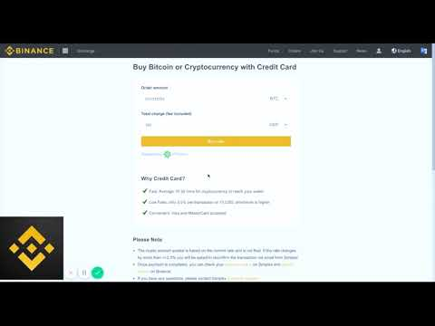 How To Buy Crypto With Credit Card On Binance - Buy Bitcoin In 2min 2021