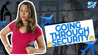 How To Go through SECURITY At the AIRPORT - English at the Airport