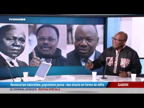 Le journal Afrique : édition spéciale Gabon