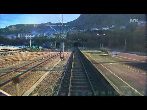 Train Norway - Bergens Banen 1/6 HD - without the long tunnels