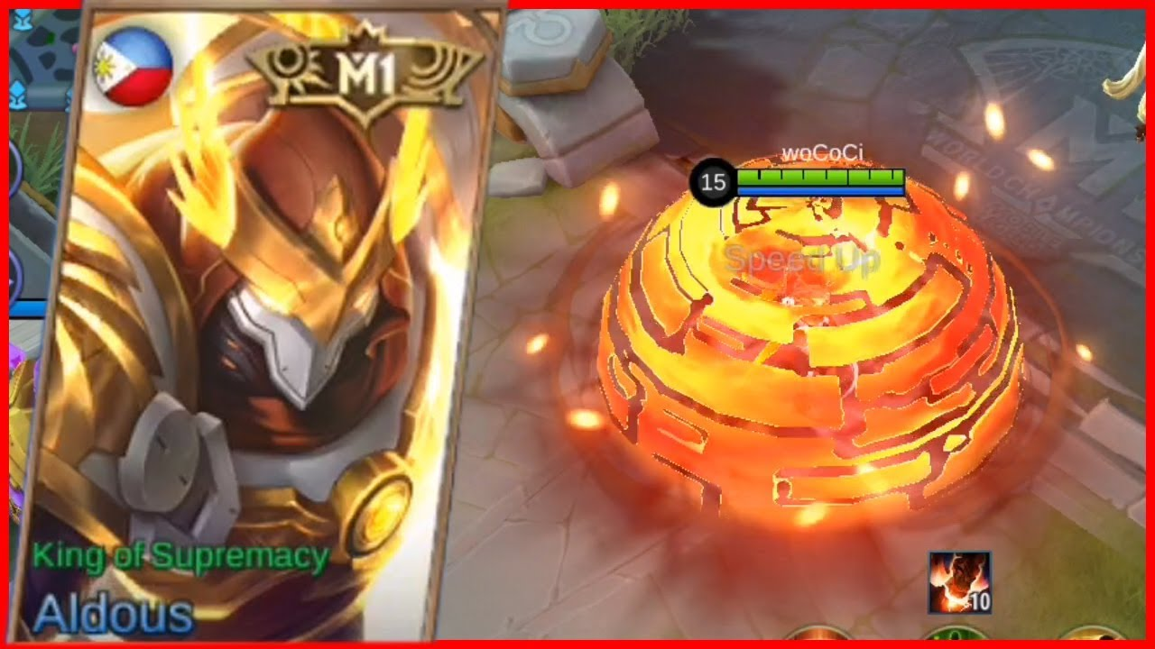 Aldous King Of Supremacy New M1 Skin Mobile Legends