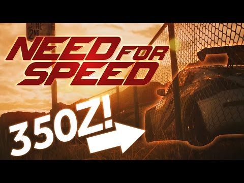 Need for Speed 2017 REVEAL! 350Z, Customization & Trailer Date!