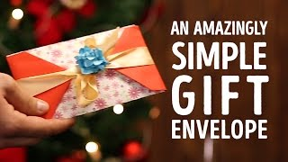 Simple gift envelopes that you can make in minutes l 5-MINUTE CRAFTS
