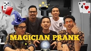 PRANK - BEST MAGICIAN EVER !!! #1 (with 23DamnOld)