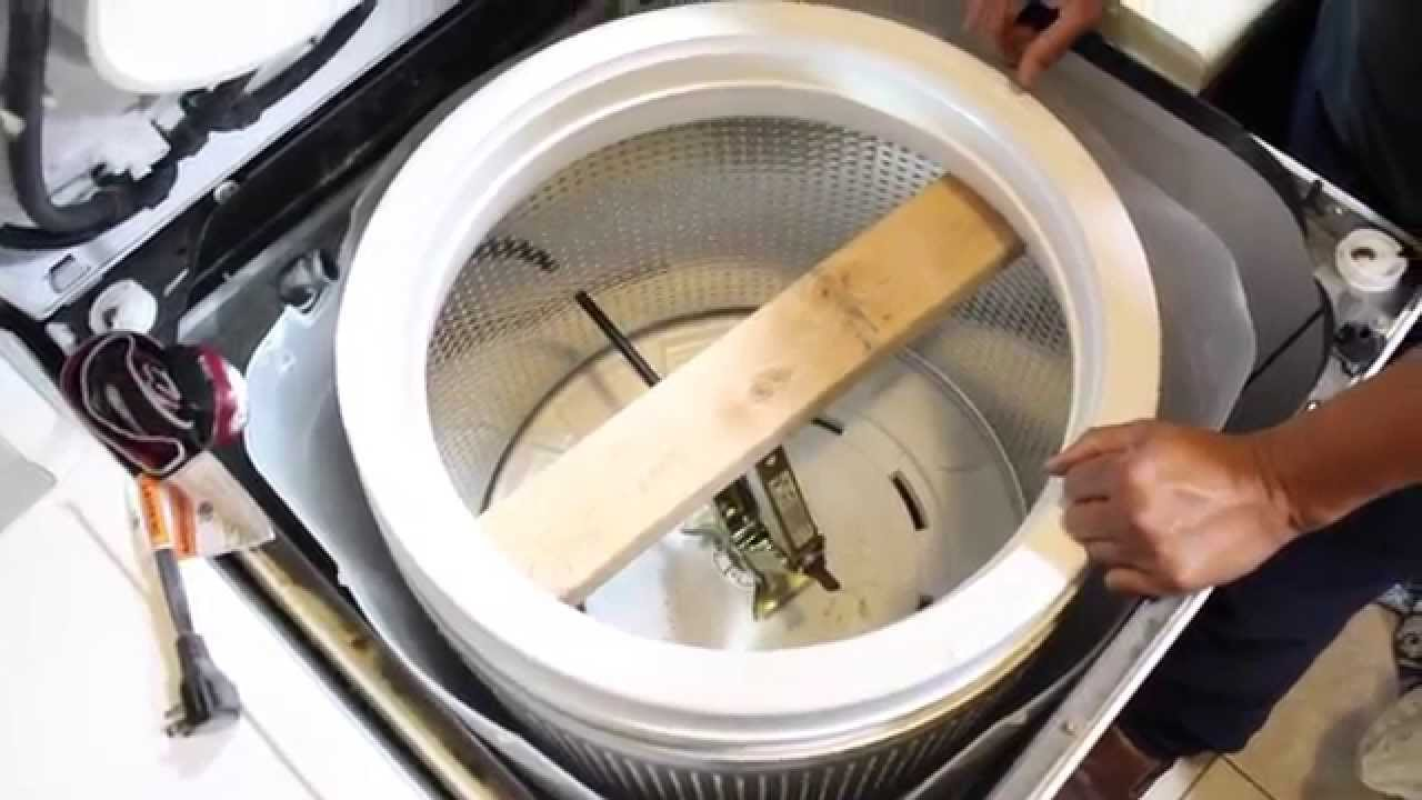 Steps for Replacing the Spin Basket in Top Load Washer