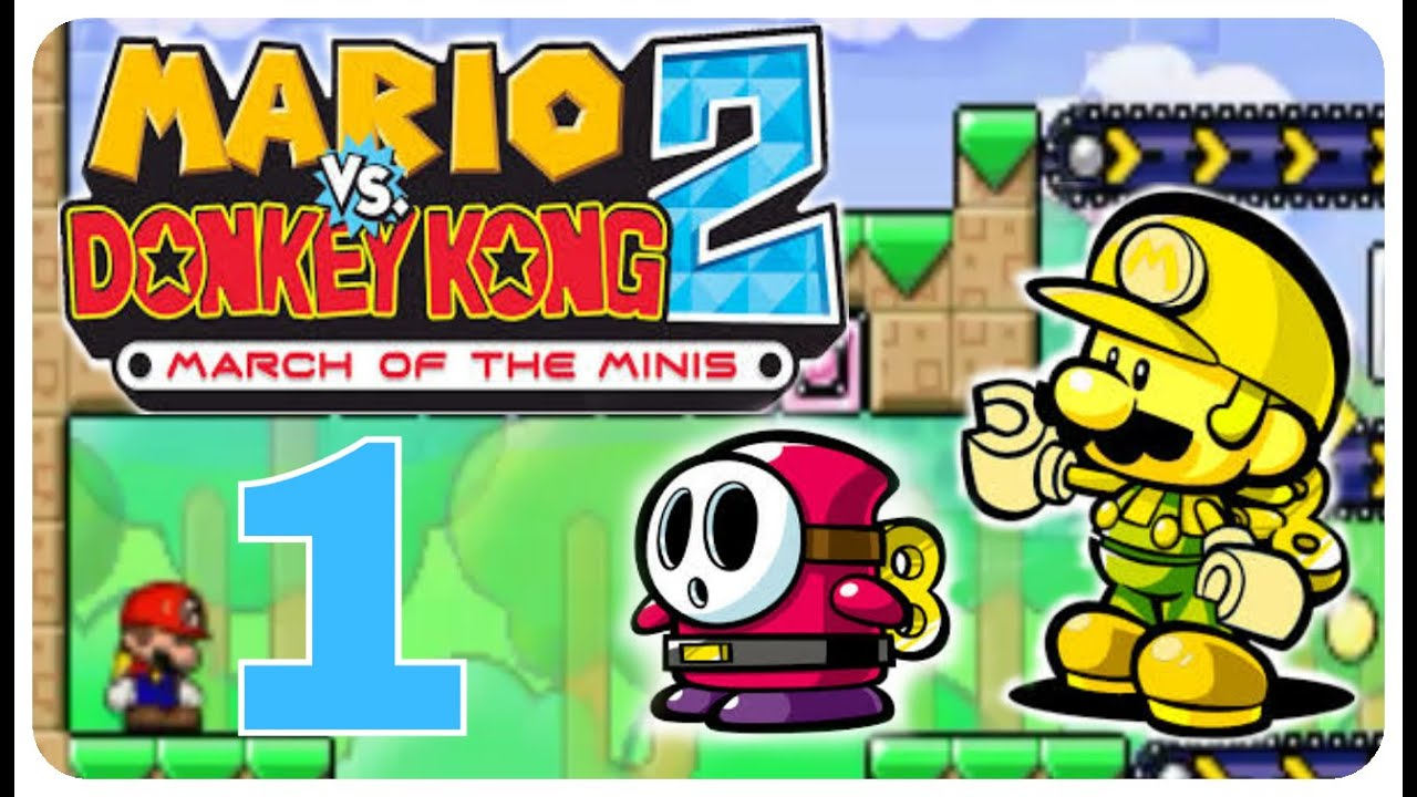 Mario Vs Donkey Kong For Gba Mario Vs Donkey Kong 2 Marsch Der Mini Marios Part 1