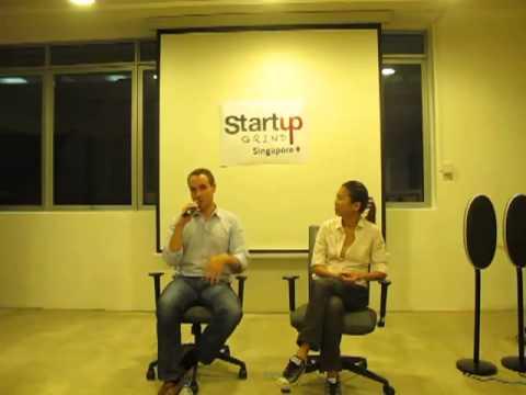 Roger Egan (RedMart.com) at Startup Grind Singapore