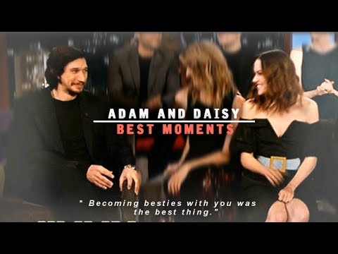 adam driver and daisy ridley best moments