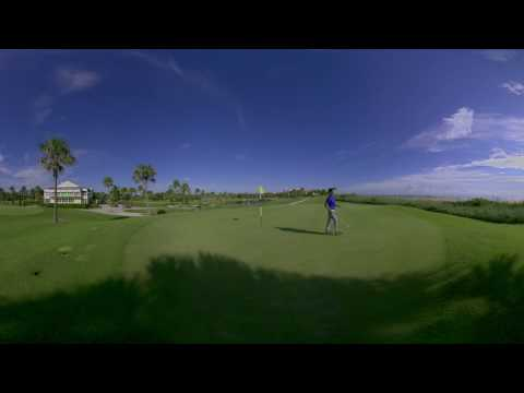The RBC AVION® Virtual Reality Experience I Oceanside Golf I 360 Video