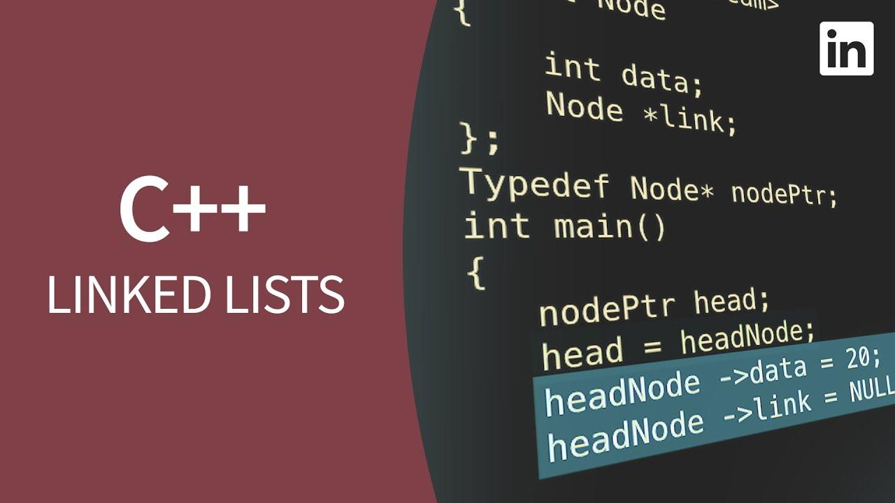 C++ Tutorial - LINKED LISTS