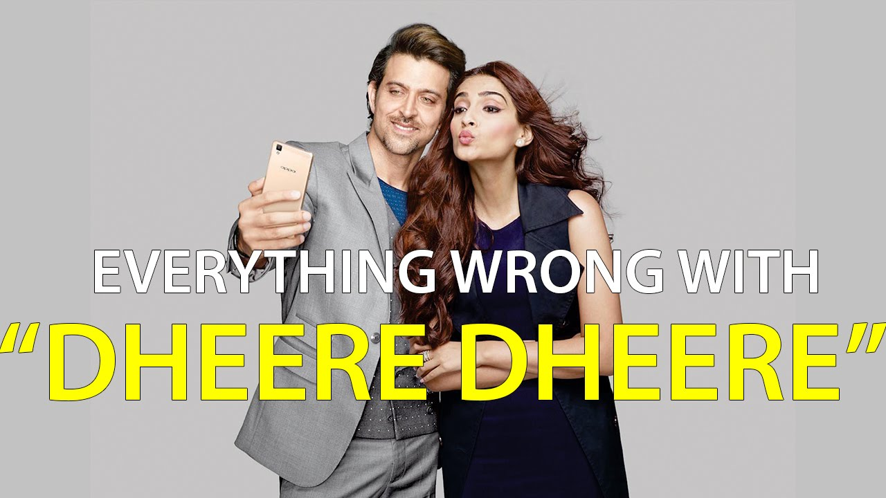Everything Wrong With Dheere Dheere Se Bollywood Music Video Sins Youtube