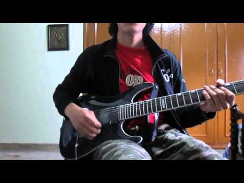 Hateform - Sanctuary In Abyss All guitar solos cover