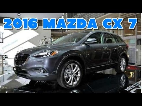 2016 mazda cx 7 redesign interior and exterior youtube. Black Bedroom Furniture Sets. Home Design Ideas