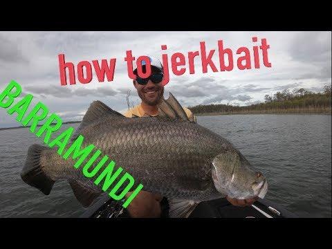 How To Use Jerkbaits To Catch Barramundi