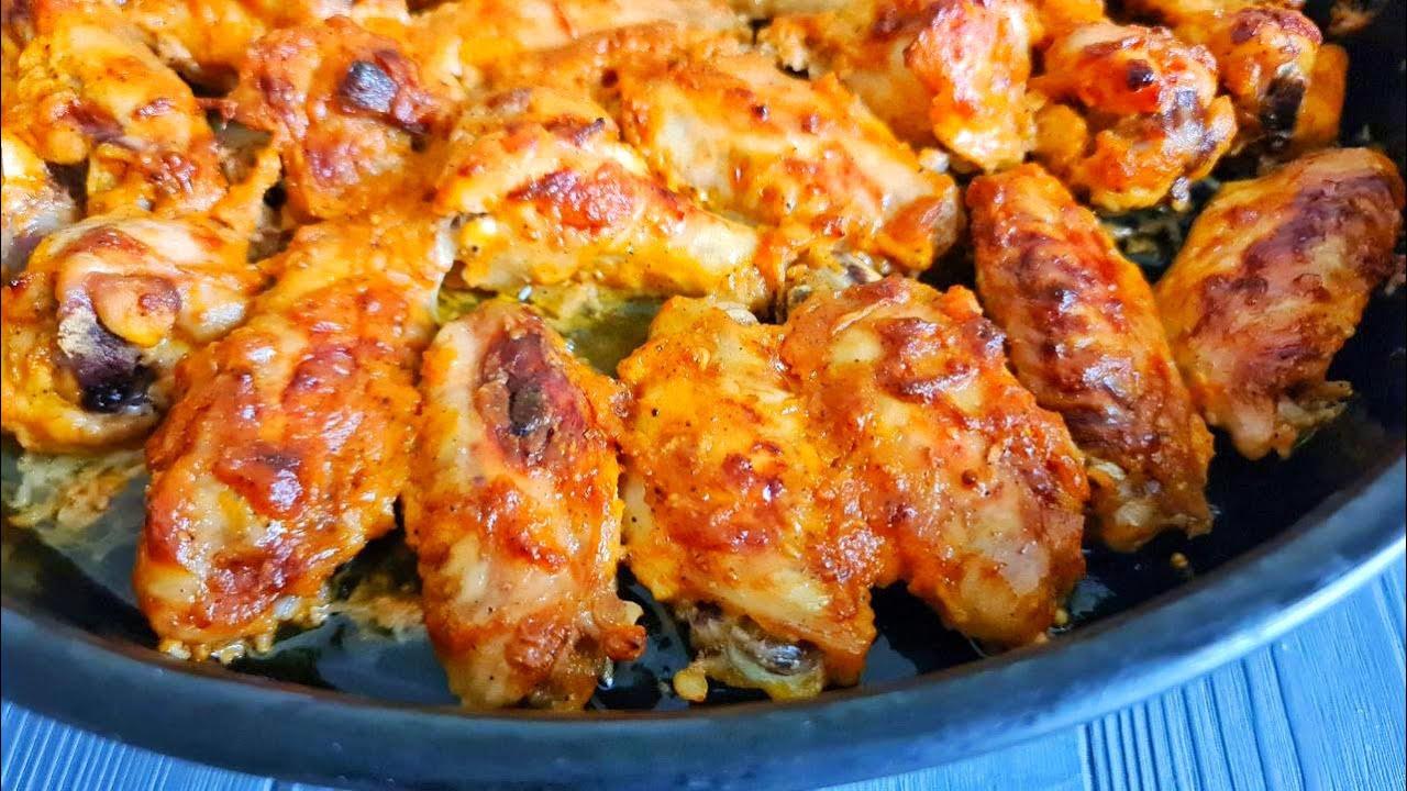 КРЫЛЫШКИ КАК СЕМКИ, Вкуснее KFC! ☆ Готовлю их без жарки, Они такие вкусные, что не оторваться