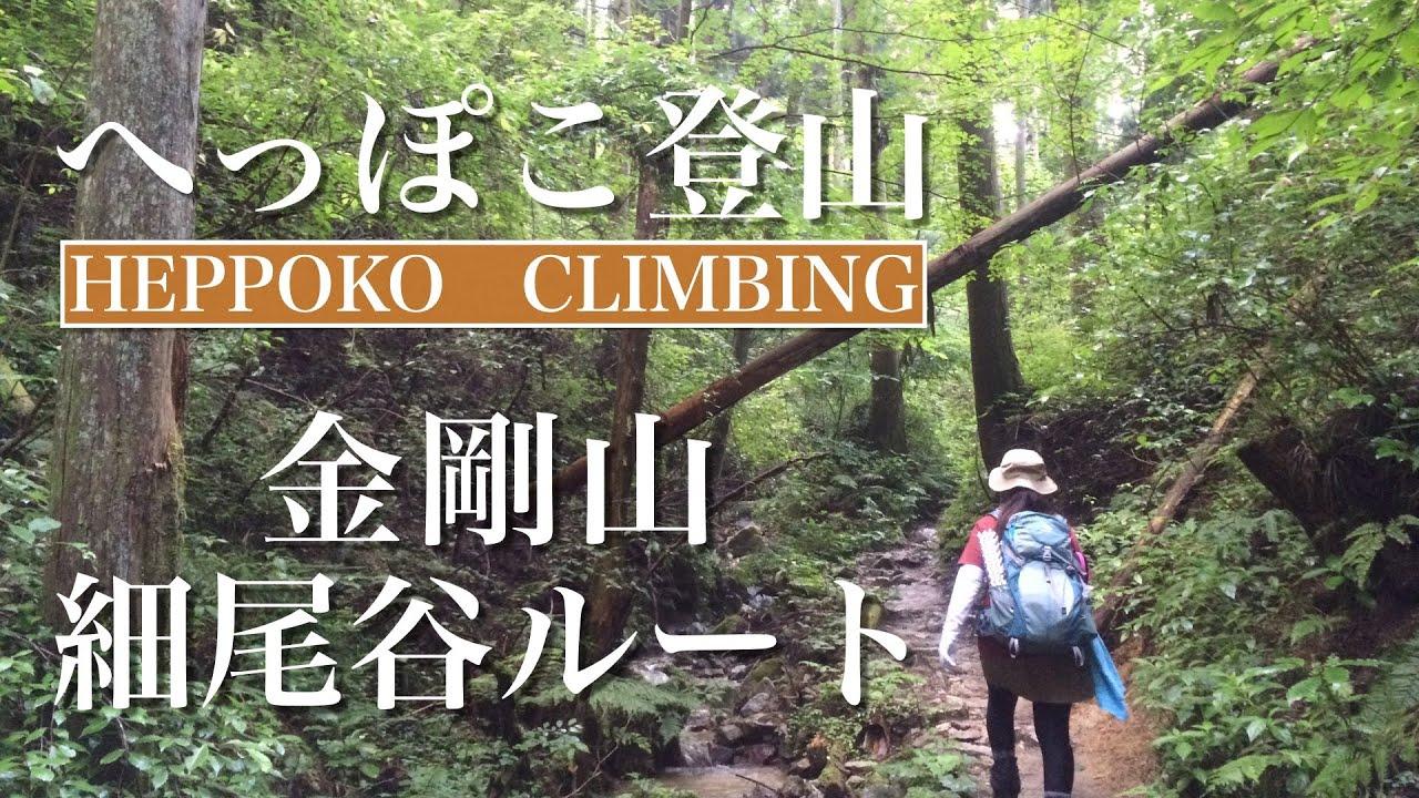 へっぽこ登山 金剛山♯5(大阪府/奈良県) 細尾谷ルート - YouTube