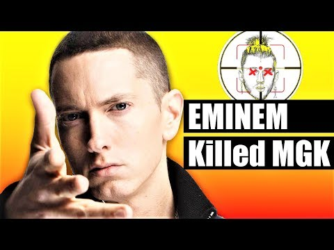 EMINEM's Killshot DESTROYS MGK & MGK Responds [Review/Reaction]