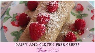 Dairy Free And Gluten Free Crêpes Recipe