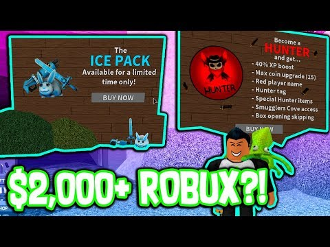 PURCHASING ALL MMX PACKAGES!!! ($2,000+ ROBUX)