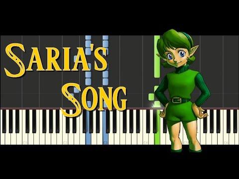 Synthesia - Zelda Ocarina of Time - Saria's Song