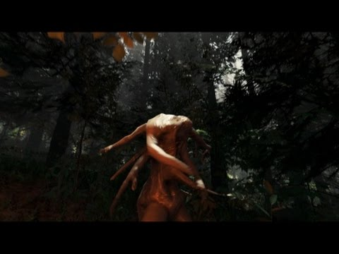 Surviving Cannibal Island. The Forest (PC) w/commentary