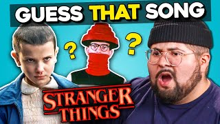 Download Guess That: Stranger Things Songs Challenge (React) Mp3 and Videos