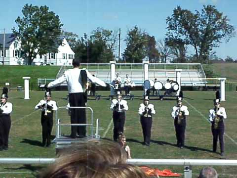 Fleming County High School Marching Band-Mason Comp. 2009