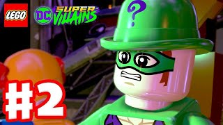 LEGO DC Super Villains - Gameplay Walkthrough Part 2 - The Riddler, Clayface, and Catwoman!