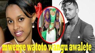 Diamond Tena aletewa watoto mapacha kutoka BURUNDI