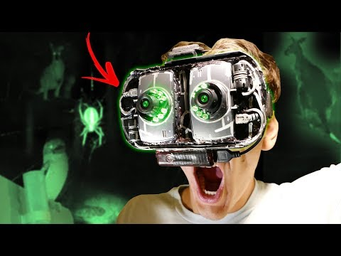How To Make Cheap SPY NIGHT VISION GOGGLES - Ft. CRAZY AUSTRALIAN ANIMALS
