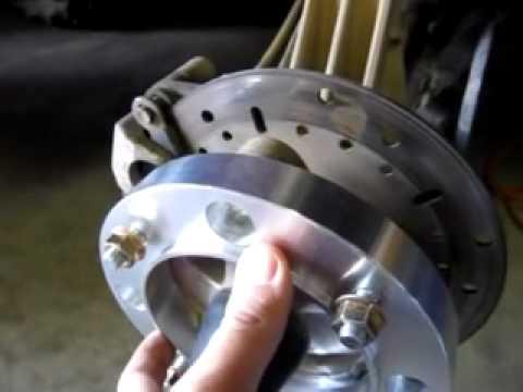 Wheel Spacers on Polaris Sportsman with Bighorn 2 0
