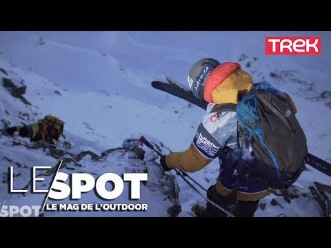 Le Spot: visite des Arcs avec Jules Bonnaire - Trek TV