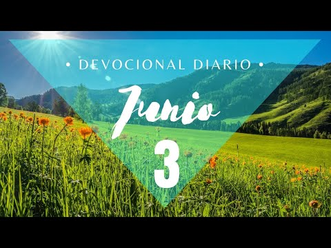 Tu Tiempo con Dios 3 de Junio 2021 (Salmo 3)