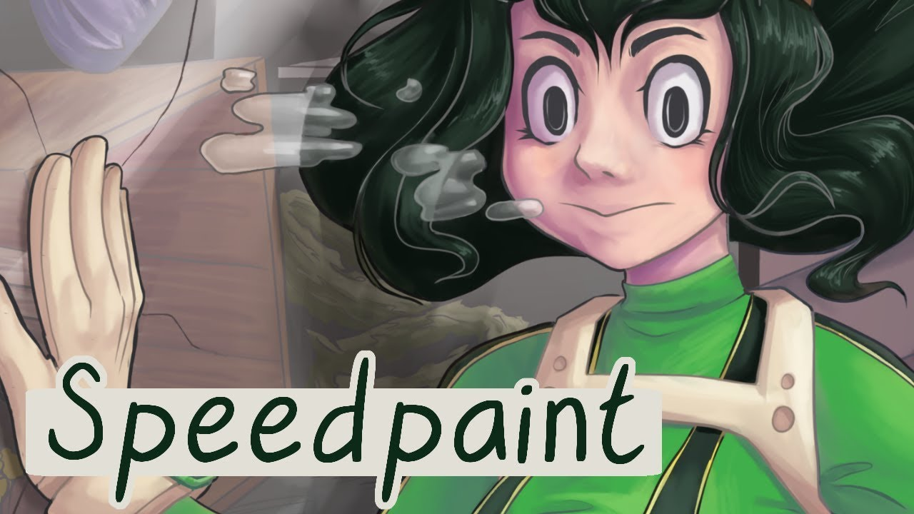 Froppy Speedart My Hero Academia Fan Art
