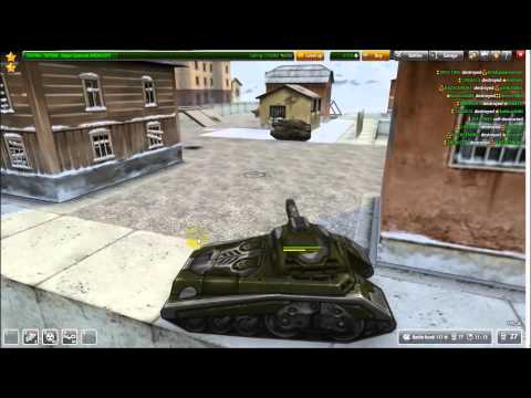TANKI ONLINE THUNDER M3 MAMMOTH M2