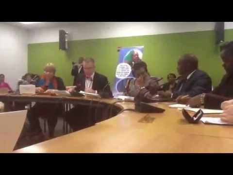 Hon. Minister Clotilde NIRAGIRA, Burundi at CSW57 March 2013, New York.