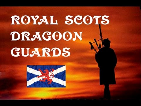 Highland Laddie ~ Pipes & Drums Royal Scots Dragoon Guards.