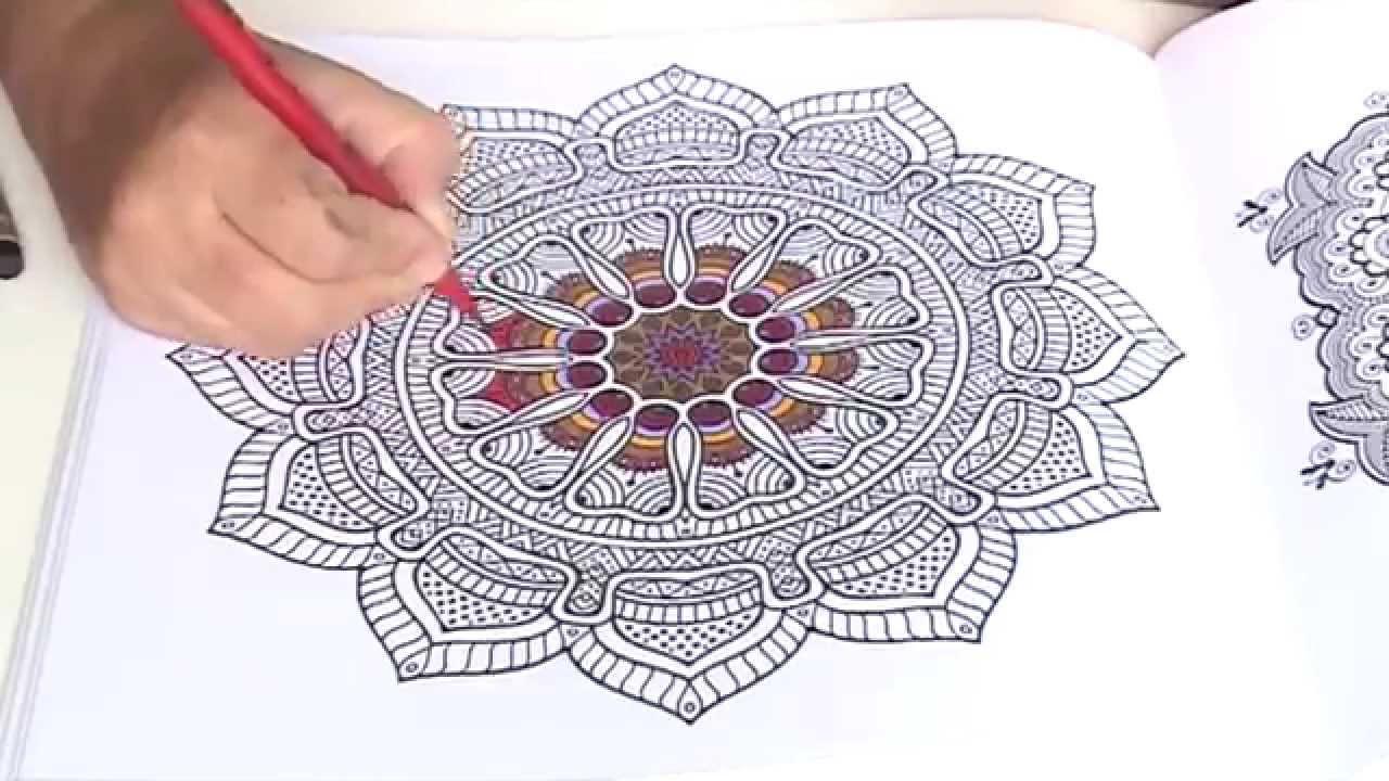 Volwassen Kleurplaten Mandala.Kleuren Voor Volwassenen Mandala