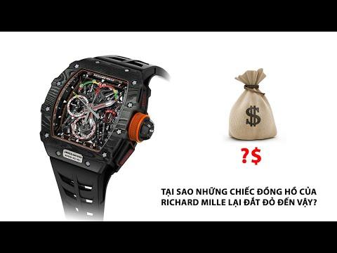 Tại sao những chiếc đồng hồ của RICHARD MILLE lại đắt đỏ đến vậy?