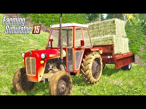 Grass mowing, Baling square bales in South-east Slovenia (UTHv5)