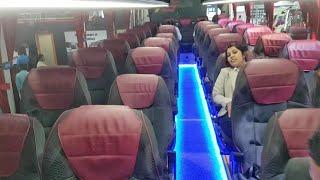 New Bharat Benz Semi Sleeper Bus 2018 Glider | #RCBuses BusWorld MGAuto