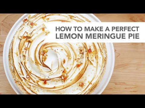 How to Make a Perfect Lemon Meringue Pie