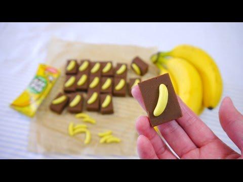Download Youtube: Microwave Chocolate Fudge with Banana Choco 電子レンジで簡単 バナナ・チョコレート・ファッジ でも本物のバナナは入ってません