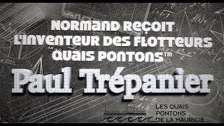 Réussir - Normand reçoit Paul Trépanier inventeur du flotteur Quai Ponton