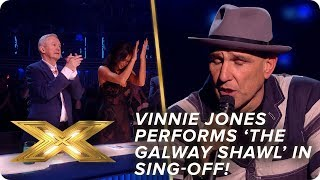 Vinnie Jones performs 'The Galway Shawl' in sing-off! | Live Show 4 | X Factor: Celebrity