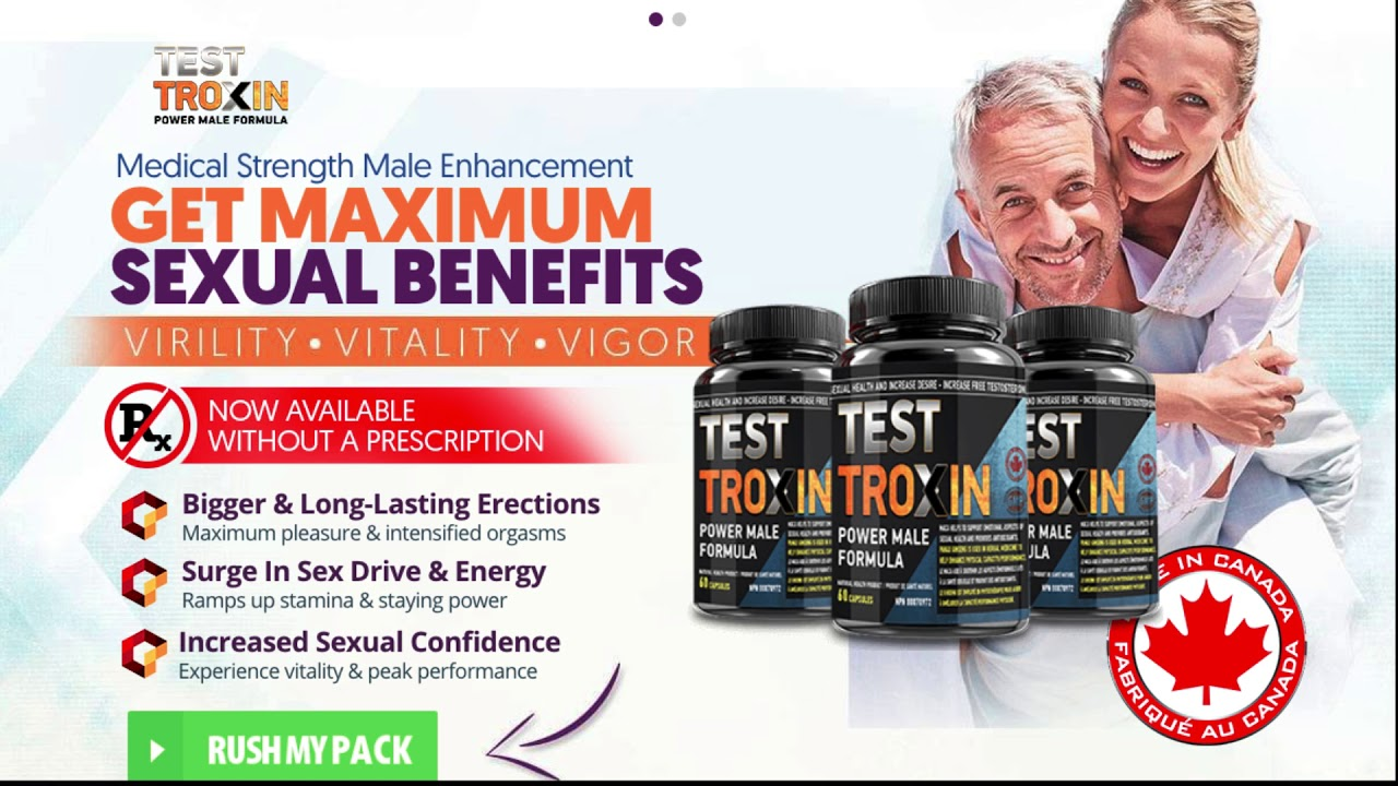 Test Troxin Male Enhancement Review   ADVANCED MALE ENHANCEMENT! order your pack here