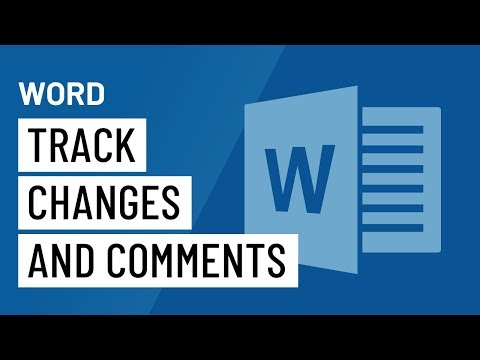 Word: Track Changes And Comments