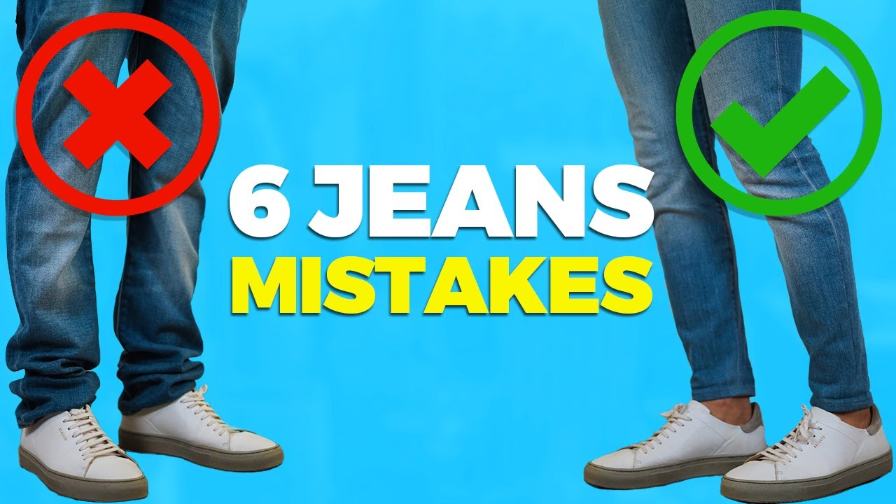 6 Ways You're Wearing Your Jeans Wrong | Alex Costa 5