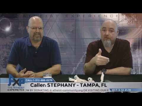 Eyewitness Accounts of Jesus Resurrection | Stephanie - Tampa, FL | Atheist Experience 21.10